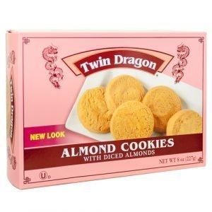 TWIN DRAGON ALMOND COOKIES